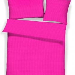 Pink Satin Lavana Seersucker